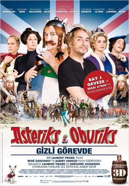 Asteriks ve Oburiks Gizli Görevde : poster